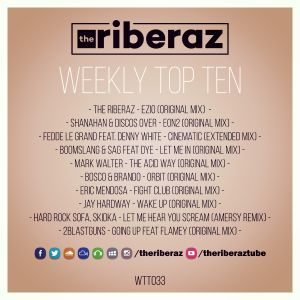 The Riberaz Weekly Top Ten 033