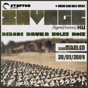 Savage - Symptom 2nd anniversary /Subotica, Serbia/ 20090320