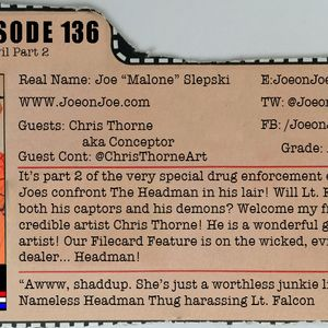 G.I. Joe Ep 136: The Greatest Evil Part 2 w/ Chris Thorne