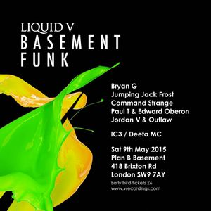 Command Strange - Basement Funk Promo Mix - April 2015