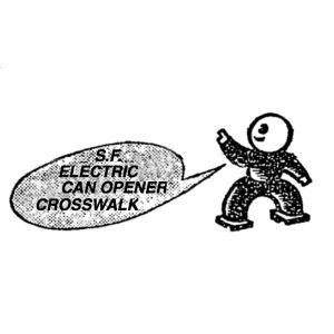SF ELECTRIC CAN OPENER CROSSWALK ep 17