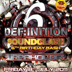 Dice @ Def:inition vs Breakology - July 2011