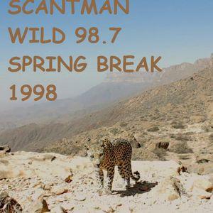 Scantman Wild 98.7 - Tampa Bay Florida - Spring Break 1998
