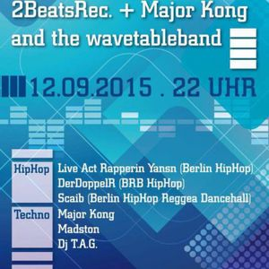 Major KonK and the Wavetable Band Haus der Offiziere 12 09 2015