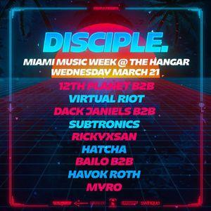 12th Planet & Virtual Riot @ The Hangar, Miami Music Week