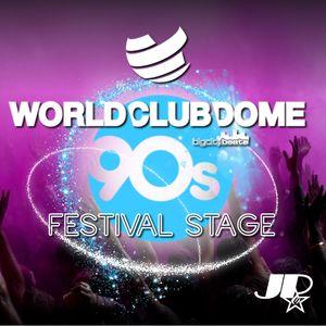 WORLD CLUB DOME 2017 ► 90S FESTIVAL STAGE / MEGAMIX
