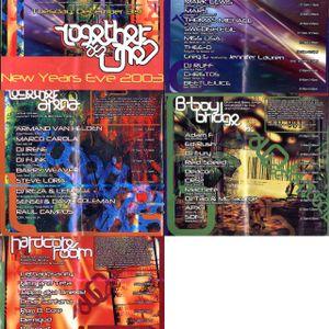 DJ Smurf @ Together As One. Los Angele's USA - 31/12/2002
