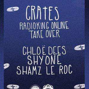 CHLOEDEES DJ SET // CRATES x RADIO KING TakeOver // 13-03-15