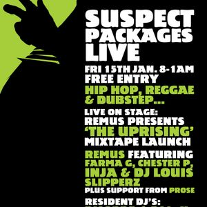 Suspect Packages Live - Taskforce, Inja & Remus