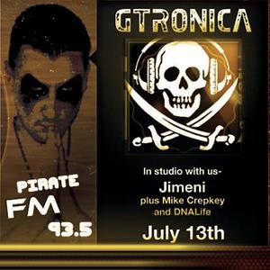 Mike Crepkey @ G-Tronica Radio Show (House Set), Colorado USA - JULY/13/2013