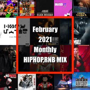 【2月】February 2021 Monthly Mix Brund New HIPHOP,RNB,Reggaeton