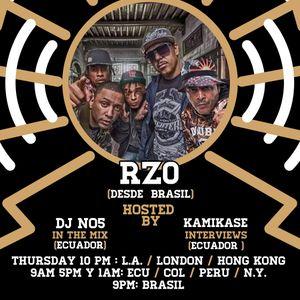 Only In Latin America Radio Show - DJ NO5 & Bura - Episodio #46 - RZO (Brasil)