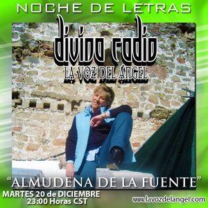 """POETA """"ALMUDENA DE LA FUENTE"""" ENTREVISTA DIVINA RADIO CONDUCE GUADALUPE DIVINA"""