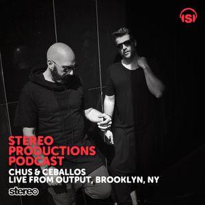 WEEK50_15 Chus & Ceballos live From Output Brooklyn, Nov'15