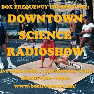 Downtown Science Radio Show 25/4/17 Andy Hickford set