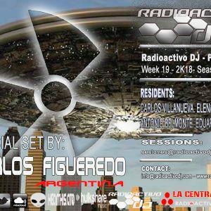RADIOACTIVO DJ 19-2018 BY CARLOS VILLANUEVA
