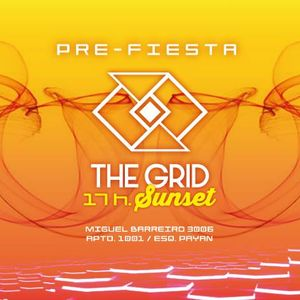 PYROTEK - THE GRID SUNSET (Dj Set Recorded Live) 30-09-17