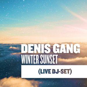 Denis Gang - Winter Sunset (live dj-set)