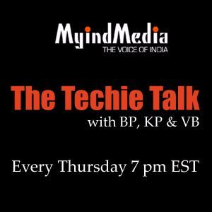 The Techie Talk by KP, BP and VB  -   October 1st 2015