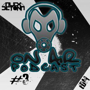 Podcast No Ar#03 @Dj Alex Detona (EDM)