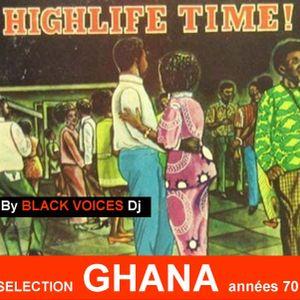 Session DJ GHANA années 70 (Highlife et Afro funk)   by Black Voices Dj (BESANCON)  100% vinyles