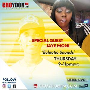 DJ Chillz Eclectic Sounds (special guest Jaye Moni) 13/09/18