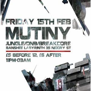 Live Set - Mutiny Edinburgh 15/02/13