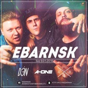 A-One @ E-Bar (Novosibirsk) - LIVE PART 1 (09.01.2016)