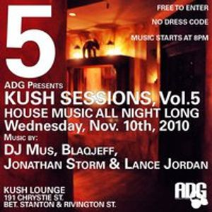 KUSH SESSIONS VOL.5 - DJ Mus set