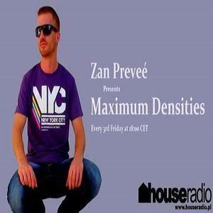 Zan Preveé - Maximum Densities 031 Houseradio.pl 2017.11.17