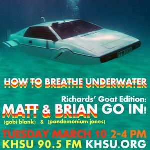Live on How To Breathe Underwater 3-10-15