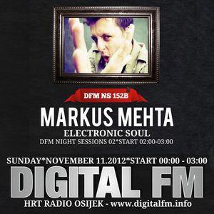 Markus Mehta - Digital FM Radio Show - HRT Radio Osijek - 11.11.12