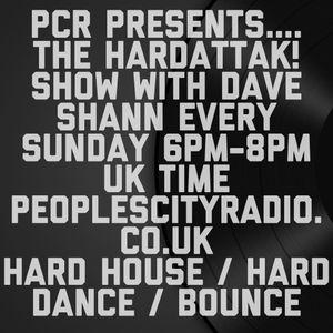Dave Shann - The HardAttak! Show on peoplescityradio.co.uk 28/06/2015