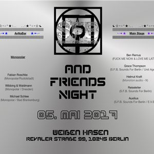 Reiseleiter B2B Auxilius (with Vinyl+Player) - @S.F.B. Sounds For Berlin and Friends Night
