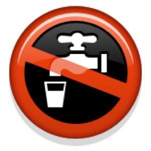The Emoji Suite: Non-Potable Water Symbol