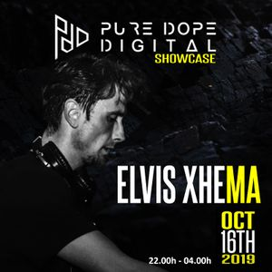 Pure Dope Digital ADE Showcase 2019 - Elvis Xhema @ 50Hertz Techno Cafe [Live Recording]