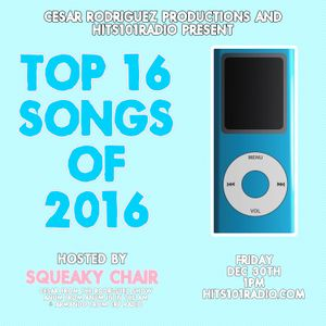 Squeaky Chair's Top 16 Songs of 2016