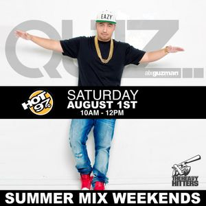 DJ Quiz Hot 97 Summer Mix Wknd 8-1-15 HR 1