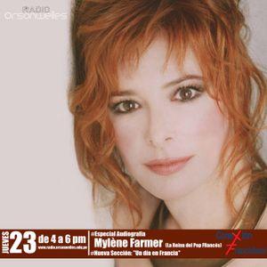 Conexión Francófona 23-04-15 - Especial Audiografía Mylène Farmer