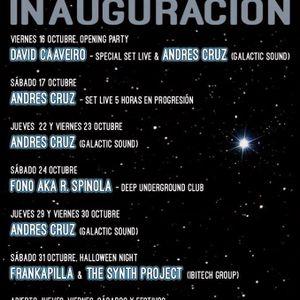 David Caaveiro - Live @ Inauguracion 7º Cielo Club (16-10-15) parte 2