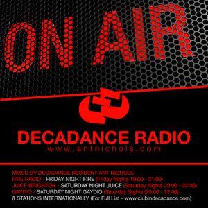 ANT NICHOLS - DECADANCE - 30/31 JANUARY 2015