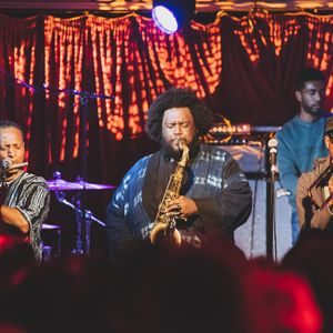 Kamasi Washington (Live From The Brass & Crimson Glasgow) - 31st October 2017