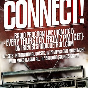EPISODE 62 CONNECT! RADIO SHOW_01/11/2012_Special Guest BIG BAMBOO SOUND (ROME) _ BALOOBASOUND.COM