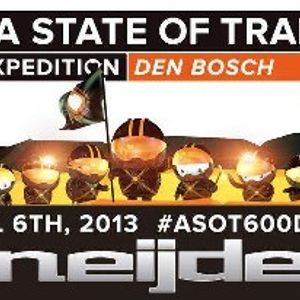 Sneijder Live @ A State of Trance 600 Den Bosch