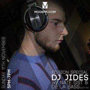 11/11/2018 - DJ Jides W/ Nate GST & De La Bass - Mode FM
