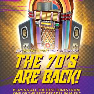 The 70's Are Back With Kenny Stewart - July 11 2020 www.fantasyradio.stream