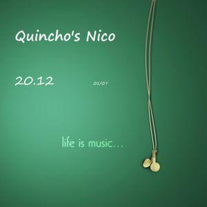Set Quincho's Nico 20.12 @ 01/07