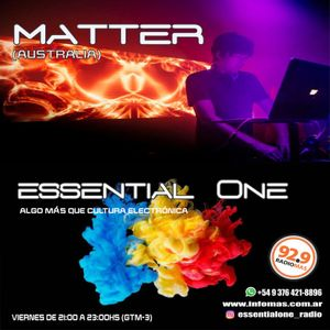 essential One - Dj Matter (Meanwhile in isolation live stream 12-04-20) / Programa #12  (11-09-2020)