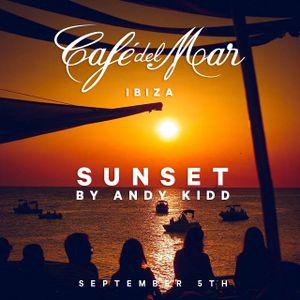 Café del Mar Ibiza Sunset By Andy Kidd (5.9.2018)