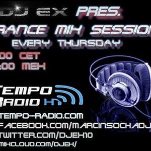 DJ Ex pres.Trance Mix Sessions ep.129 (19-01-2017) www.tempo-radio.com